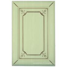 Porte de placard de cuisine de PVC (HLPVC-25)