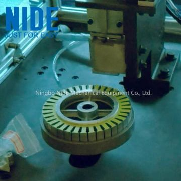Balanced scooter stator Insulation paper inserting machine