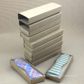 Ручной Работы Крафт-Бумаги Горячая Проштемпелеванная Пользовательские Подарочная Коробка Шелковый Галстук Логотип