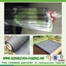 Spunbond de pp non-tissé pour le tissu de contrôle de mauvaise herbe d'agriculture