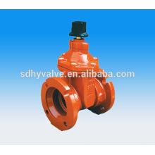 AWWA c515 vanne DN150 de protection d'incendie