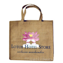 Lotos Hotel-Speicher-Förderung Jute-Beutel (hbjh-44)
