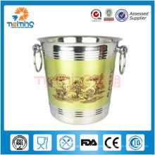 venta caliente de alta calidad de acero inoxidable smirnoff cubo de hielo, barril de cerveza