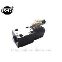 high flow manifold solenoid valve hydraulic