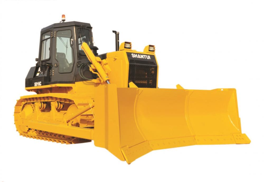 160HP Shantui Pushing Carbón Dozer SD16C