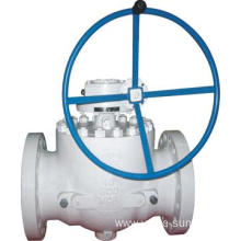 Top Entry ball valve design