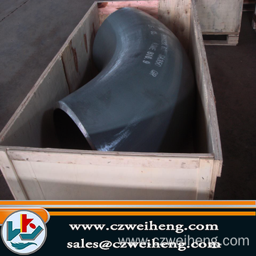 10 Years manufacturer for Black Steel Elbow A335 P11 alloy steel 90Degree elbow supply to Guam Exporter