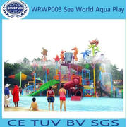 2014 Popular Interactive Water Park sea world aqua park rides