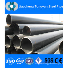 TONGYUN STEEL PIPE API 5L ASTM A53 A106 SEAMLESS STEEL PIPE WITH BLACK COATING BEVELLED ENDS AND CAPS