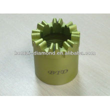 Stone and Tile Drilling Bits with PCD Segments