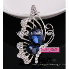 luxurious best sale charming butterfly crystal brooch