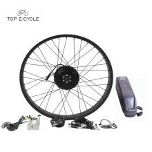 "Kit de conversión de motor de cubo de bicicleta con neumáticos Fat Assisstance de 26 ""nuevo Pedala Assisstance"