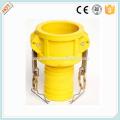 Camlock Nylon coupling type C , cam lock fittings, quick coupling China manufacture
