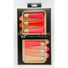 6 delige lip gloss set