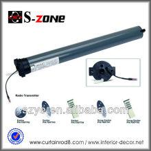 Motor de cortina 24V DC com controle remoto para cortina elétrica e cortina motorizada