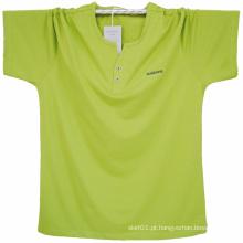 T-shirt dos homens frouxos do algodão do verão de China