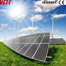Panneaux solaires haute tension