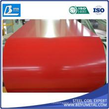 La couleur a enduit la bobine en acier enduite d'une première couche de peinture CGCC PPGI PPGL TDC51D + Z