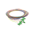 12 Core Bundle Ribbon SM Optical cable pigtail fiber optic