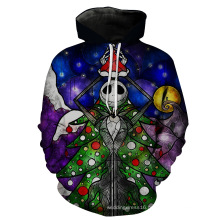 Men Printing Sweater Hoody Coat Jacket Clothes