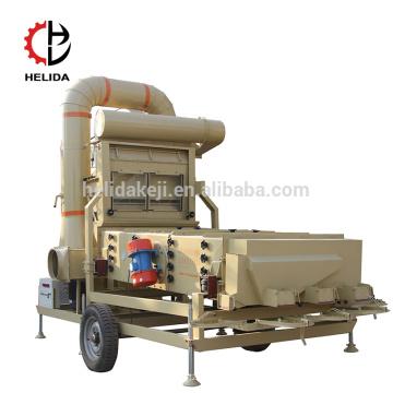 Air Screen Coriander Seeds Máquina de limpieza de girasol