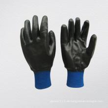 Neopren Vollbeschichteter Lila Knit Handgelenk Handschuh (5340)