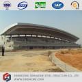 Structure en treillis de tuyaux en acier pour abri de stades