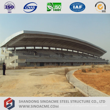 Estrutura do fardo da tubulação de aço para o suporte do estádio derramado