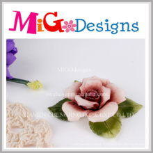 Fashionable Ceramic Flower Decorative Candle Holder