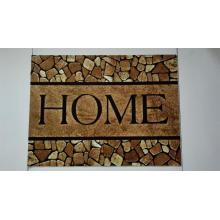 Heat Transfer Printed Door Mat with PVC Backing