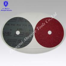 High quality aluminium oxide fiber disc with round hole