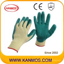 10gauges Jersey hecho punto del nitrilo cubrió el guante industrial del trabajo de la seguridad (53101)