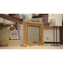La ventana del marco francés empuja la calidad del precio fuera de ventanas fijas y toldos