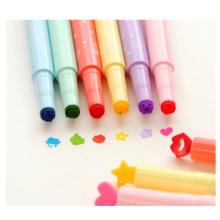 Pluma fluorescente del sello del color del caramelo de Pronotional, rotulador del multicolor