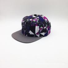 Hot Sale Snapback Sublimation et broderie Hat Hip-Hop Cap (ACEK0074)