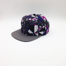 Hot Sale Snapback Sublimation e Bordado Hat Hip-Hop Cap (ACEK0074)