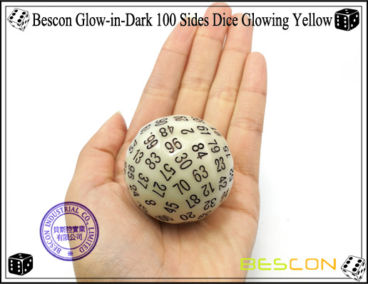 Bescon Glowing Yellow D100-5