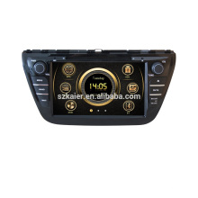 8'' Double Din Suzuki SX4/Scross 2013 2014 car dvd player GPS Navigation system with MP3 BT Radio Music player