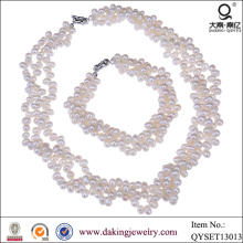 Модный костюм ожерелье и браслет ювелирные изделия Set