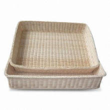 Woven Basket, Made of Cany
