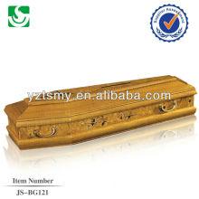 жажда психического ручки кремации гроб JS-BG121
