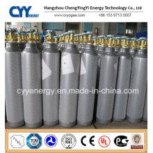 Cylindre en acier inoxydable à CO2 à base d'oxygène à haute pression 50L à oxygène à 50L