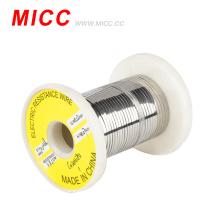 MICC temperatura alta NiCr8020niquel cromo cinta de calefaccion alambre de resistencia