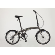 Hot Sale Aluminum Frame 6speed Folding Bicycle (FP-FDB-D010)