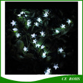White 30 LED Star Solar String Light for Garden Decorate