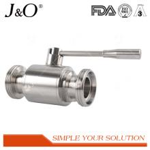 Válvula De Esfera De Aço Inoxidável Sanitária De Aço Inoxidável Novo Design