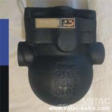 Vatac Cast Steel NPT / Thread / Bw / Sw Trampa de vapor con bola flotante