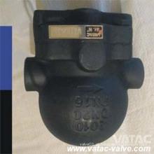 Armadilha de vapor do flutuador de esfera do NPT do aço de molde de Vatac / linha / Bw / Sw