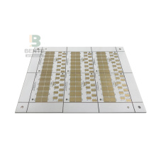 1 ชั้นฐานทองแดง Matel PCB หลอด ENIG LED