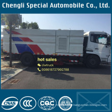 Quality Assurance 4X2 High Pressure Road Washing and Sweeping Truck